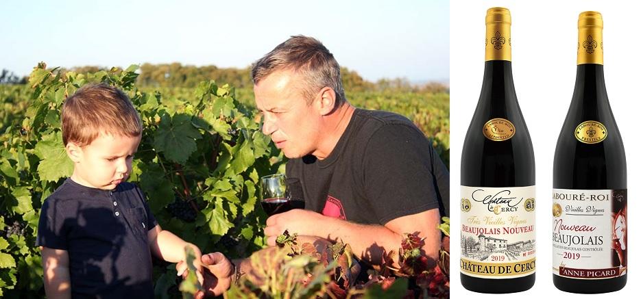 シャトー・ド・セルシーのワイン生産者、シリル・ピカール
