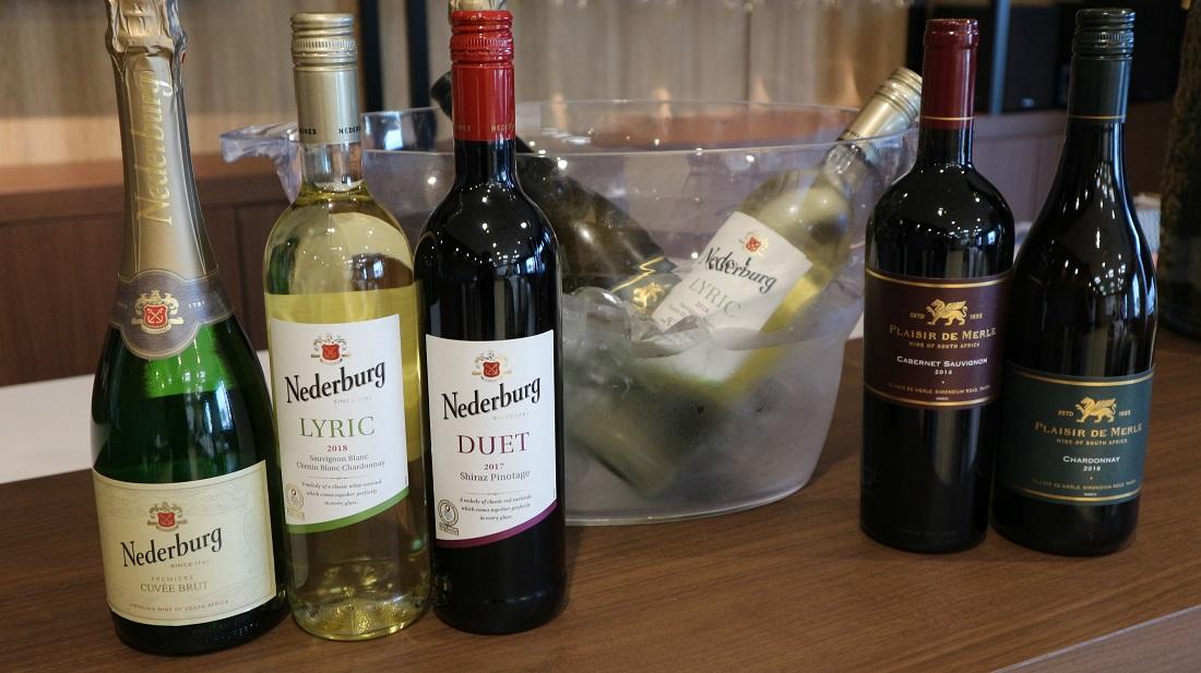 南アフリカワイン「ディステル」社のワインボトル