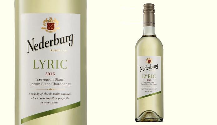 ディステル ネダバーグ・リリックのラベルとワインボトル