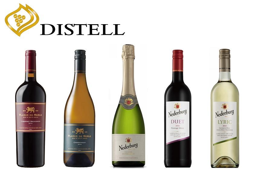 ディステルのワインボトル