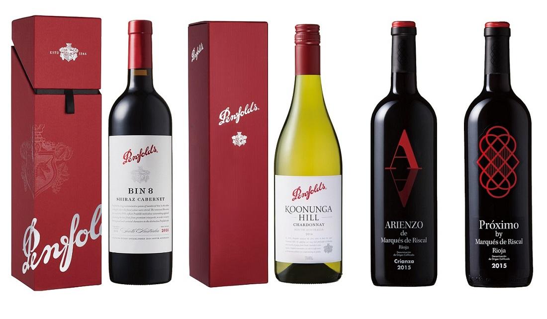 父の日におすすめのワイン、ペンフォールズとマルケス・デ・リスカル