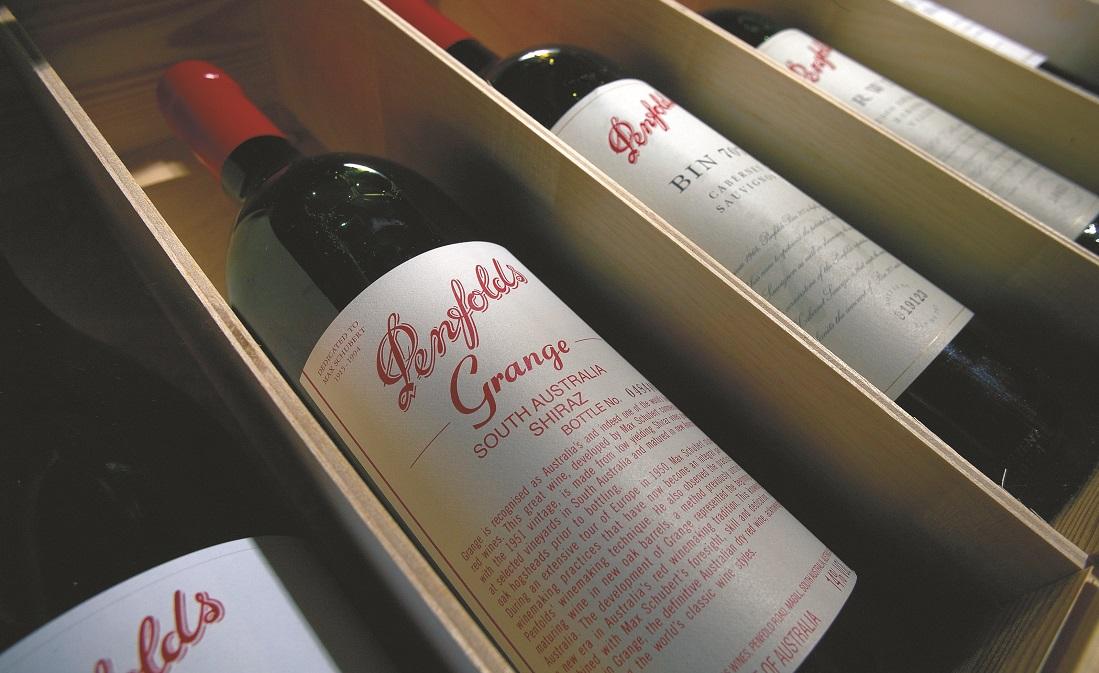 父の日におすすめのワイン、ペンフォールズのグランジ木箱入り