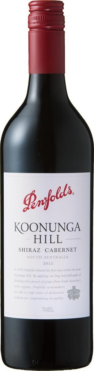 父の日に贈りたいペンフォールズのワイン、クヌンガ・ヒル・シラーズ・カベルネ
