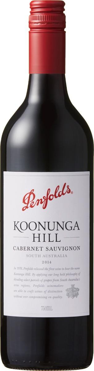 父の日に贈りたいペンフォールズのワイン、クヌンガ・ヒル・カベルネ・ソーヴィニヨン