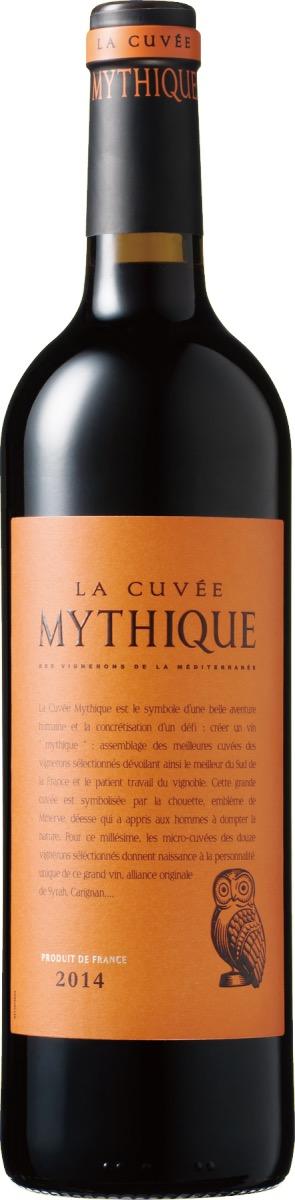 フランスワイン「ラ・キュベ・ミティーク」のボトル