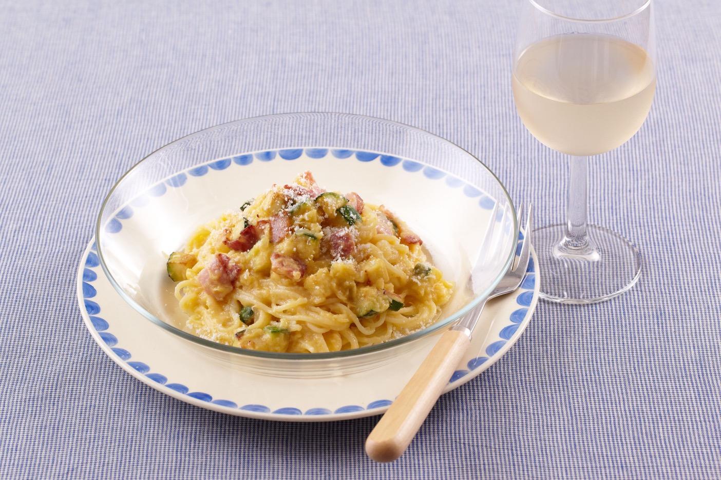 ワーママなつのおすすめレシピ第一弾!家族が喜ぶパスタ×さわやかな白ワイン
