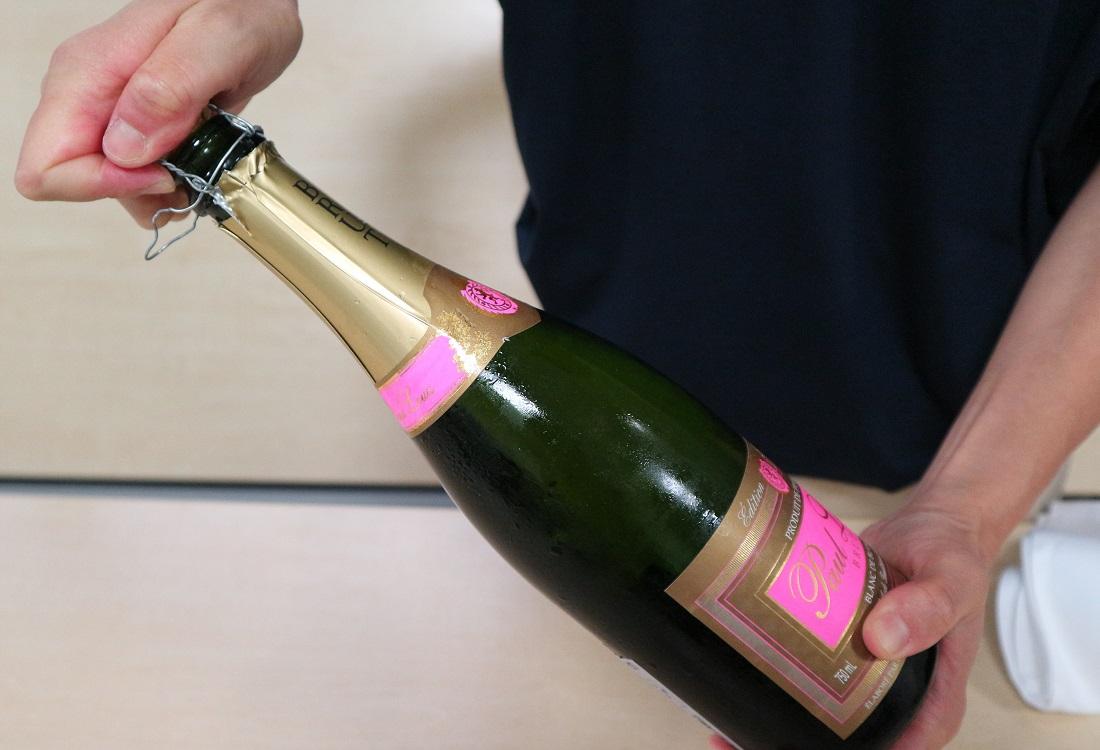 スパークリングワインの正しい開け方を知ろう!