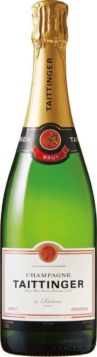 Baccarat ETERNAL LIGHTS Champagne Bar with TAITTINGERで提供されるテタンジェ ブリュット レゼルヴ