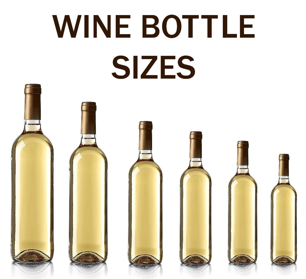 ワインボトルの種類やサイズについて徹底解説