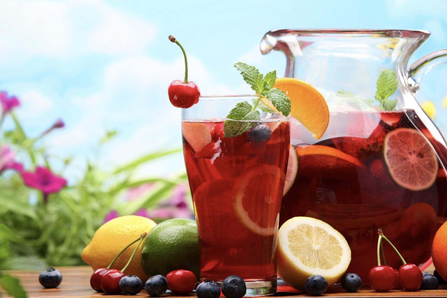 ワインのフルーツ漬けサングリア