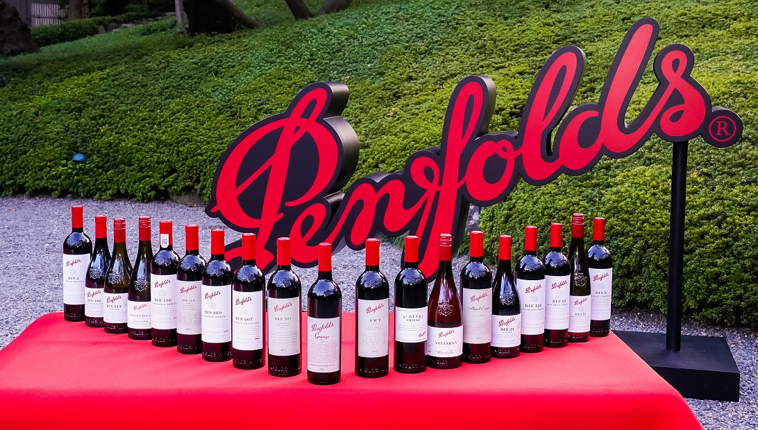 おめでたいワインであるペンフォールズの商品ラインアップ