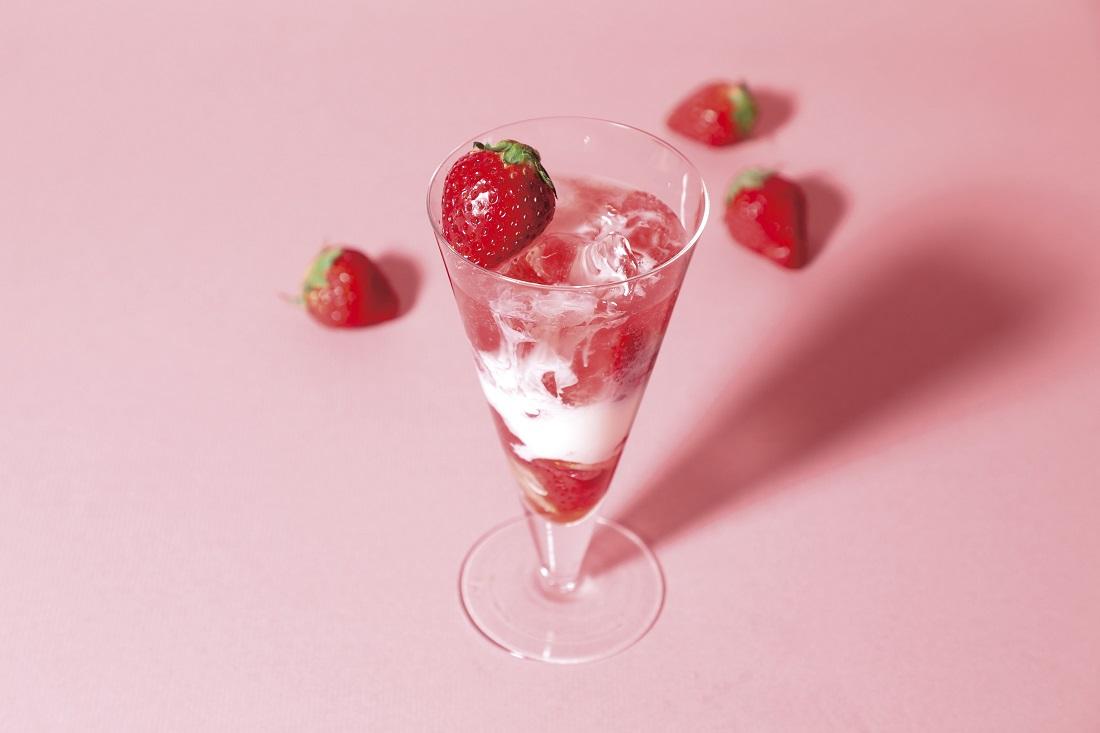 苺のワインと楽しみたい、ストロベリーミルク