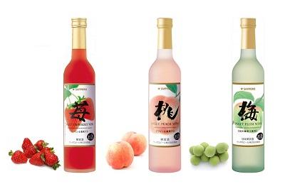 果実をまるかじりしたようなフルーティーさ!甘口フルーツワインご紹介!