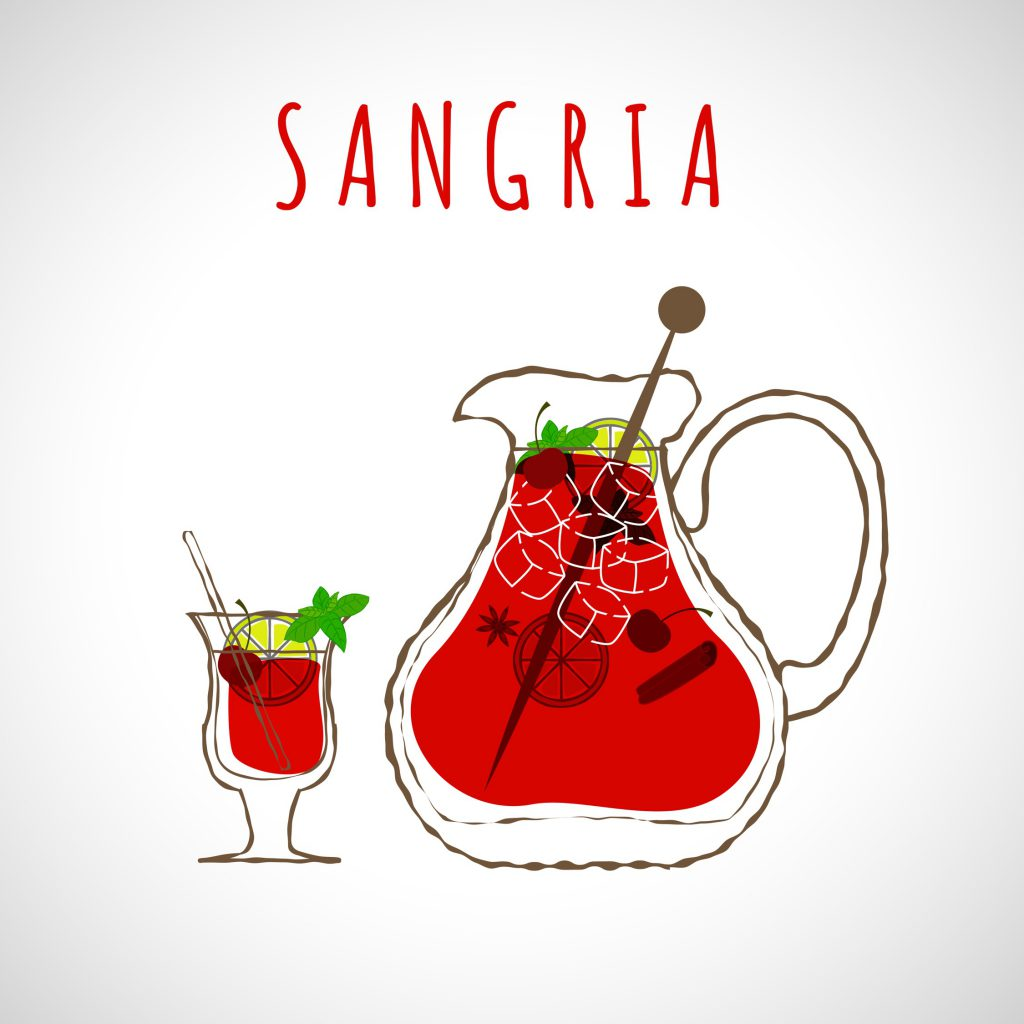 自宅で簡単♪おしゃれで可愛いサングリアのレシピ