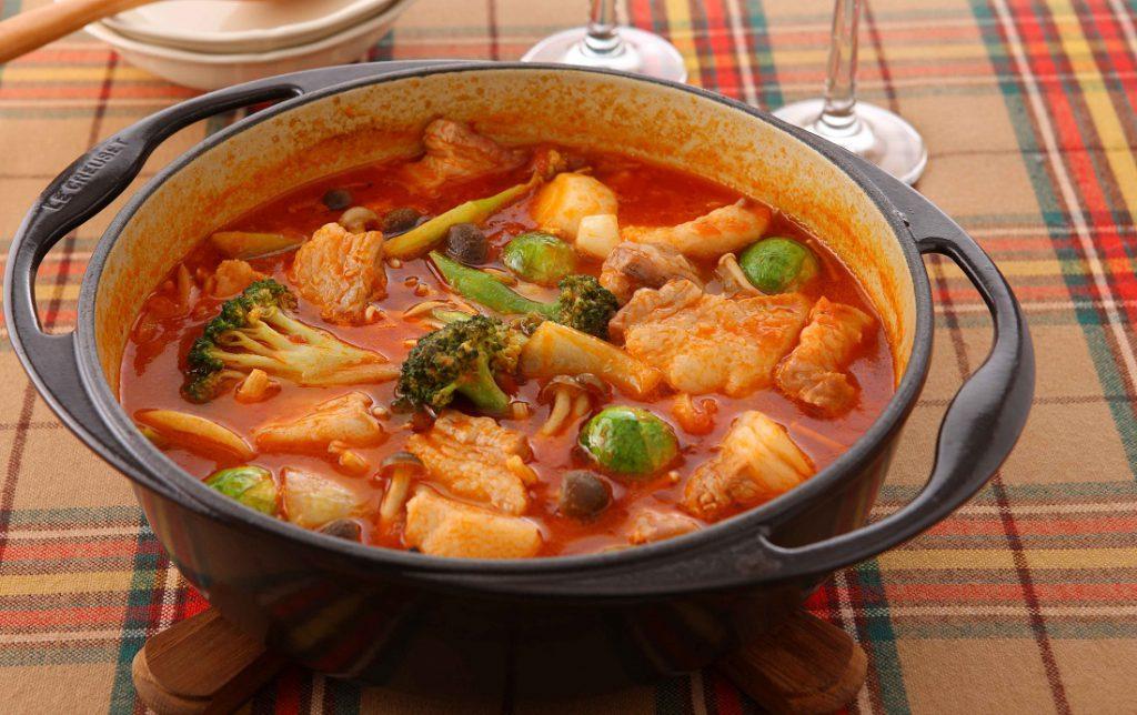 ワーママなつのおすすめレシピ第三十弾!栄養たっぷり変わり鍋とロゼワインで寒い夜もぽかぽか!