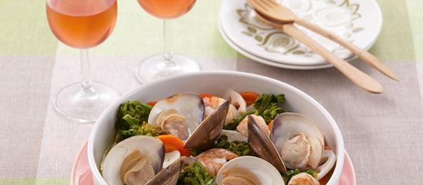ワインオープナー「見た目も春色!ロゼワインは旬の春野菜と一緒に楽しんで」記事内画像