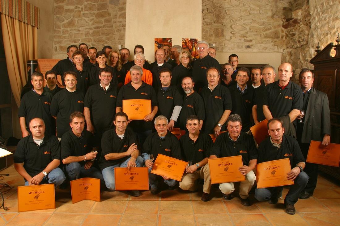 南フランスのワイン「ラ・キュベ・ミティーク」のワインの造り手