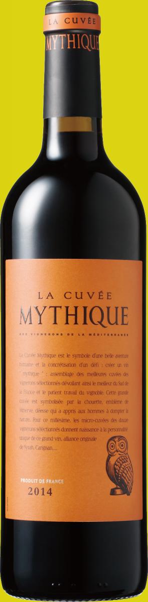「ラ・キュベ・ミティーク」のワインボトル