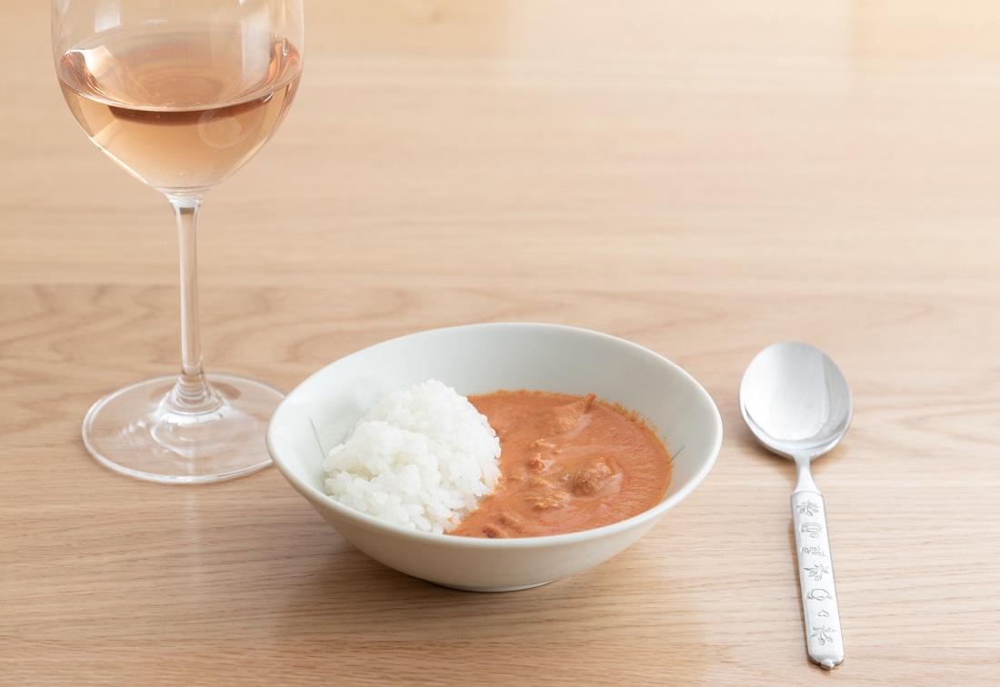 #やってみロゼ!カレー編のオンライン飲み会で検証したロゼワインとバターチキンカレー
