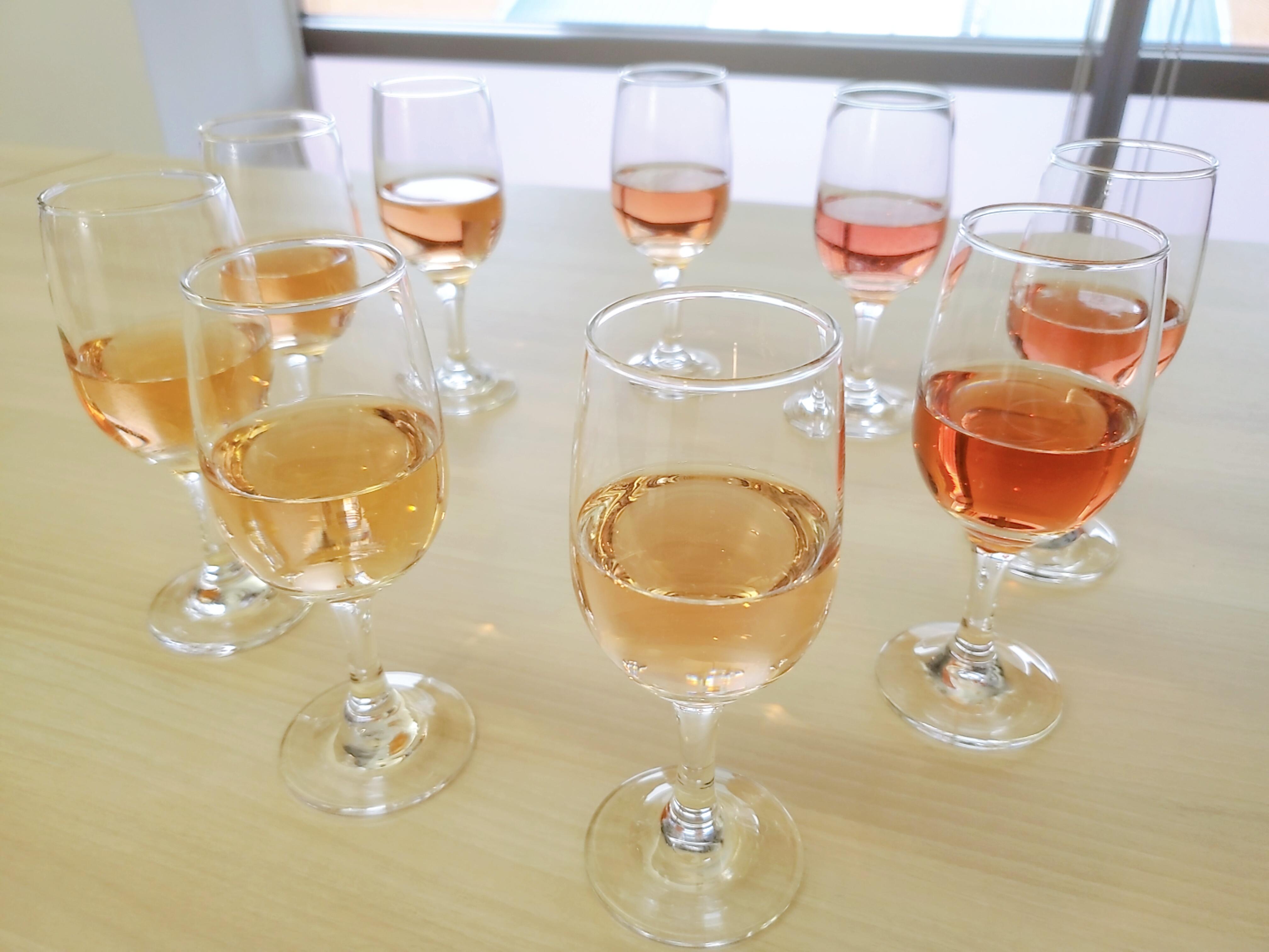 ロゼワインの色はバリエーションが豊富!表現方法を知っておこう