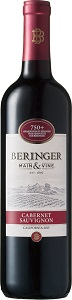 ベリンジャー カリフォルニア・カベルネ・ソーヴィニヨンのワインボトル