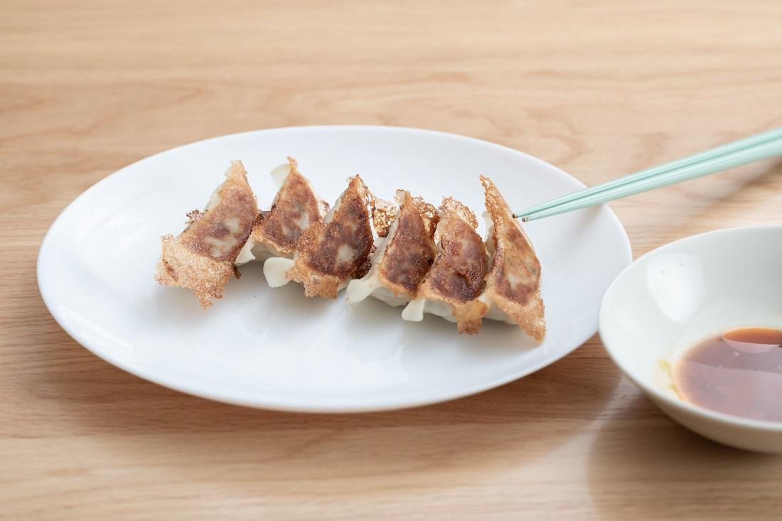 #やってみロゼ!餃子編オンライン飲み会でペアリングした餃子と定番タレ