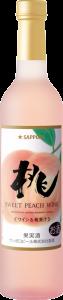 「桃のワイン」500mlワインボトル