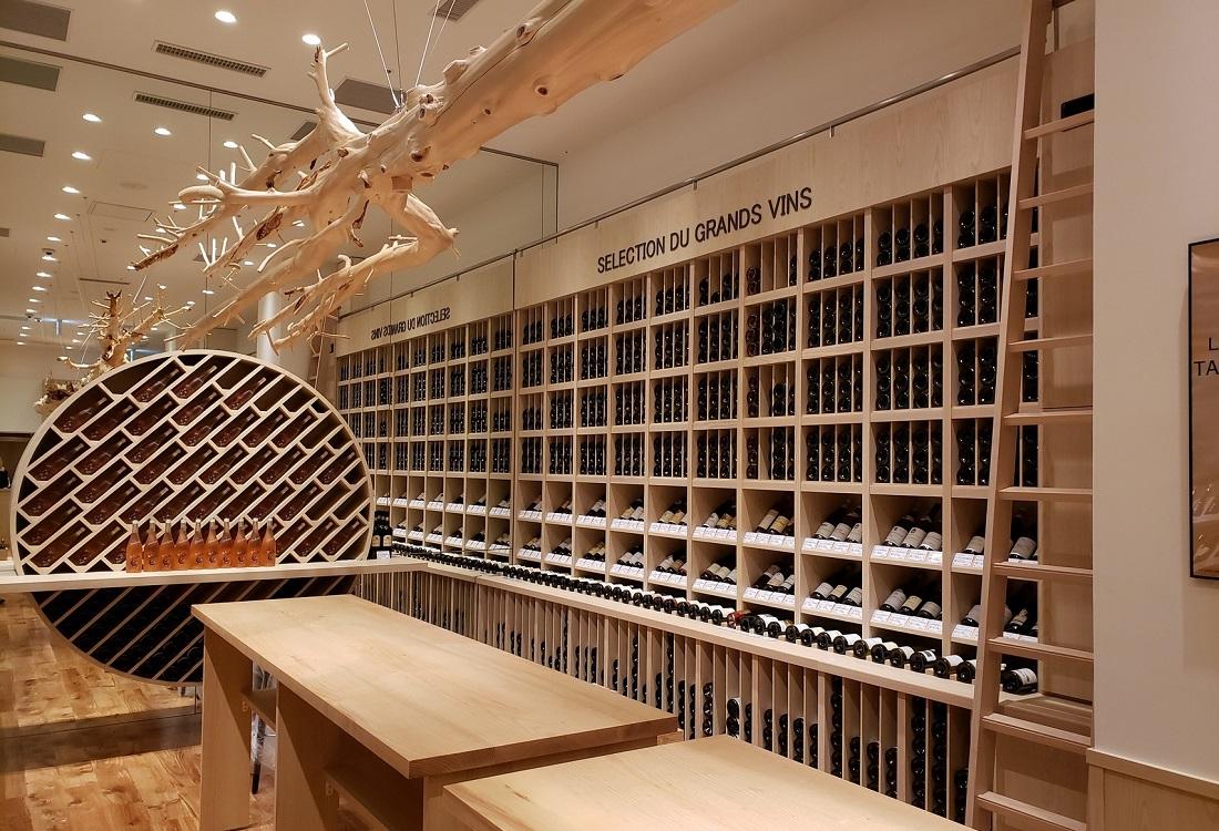 虎ノ門ヒルズ ビジネスタワーにオープンした「フランスワイン専門店 ラ・ヴィネ」虎ノ門店