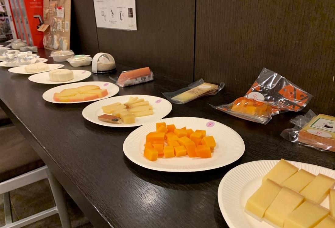 ワインショップ「ワインマーケットパーティー」マリアージュ研究会が選ぶ日本ワイン「グランポレール」に合う国産チーズハード系の候補