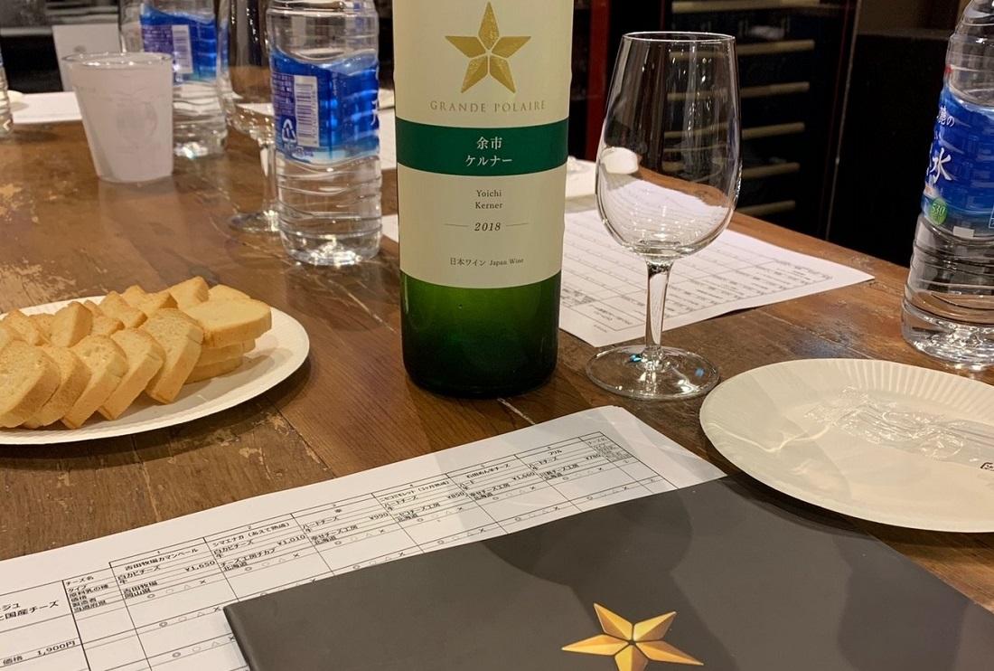 ワインショップ「ワインマーケットパーティー」マリアージュ研究会選定の様子