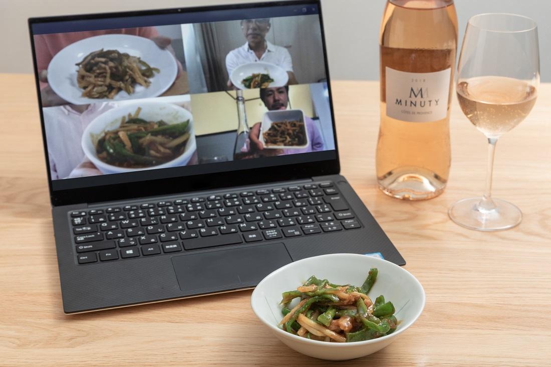 #やってみロゼ!中華料理編オンライン飲み会でペアリングを検証したチンジャオロースとエム・ド・ミニュティー