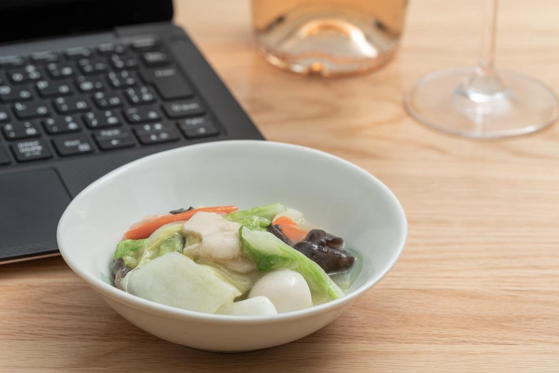 #やってみロゼ!中華料理編オンライン飲み会でペアリングした八宝菜