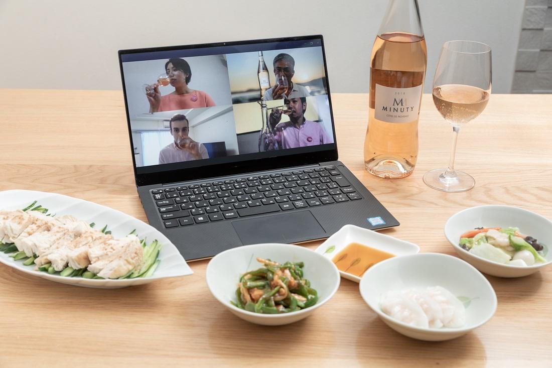 #やってみロゼ!中華料理編オンライン飲み会でペアリングしたエム・ド・ミニュティーと中華料理