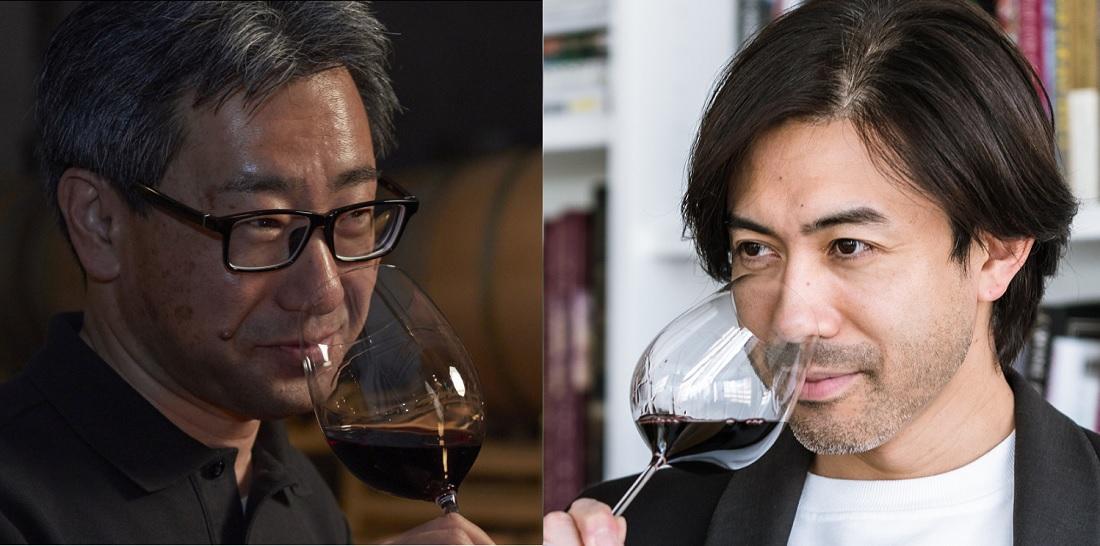 グランポレールのチーフワインメーカー工藤雅義さんとグランポレールアンバサダー大越基裕さん
