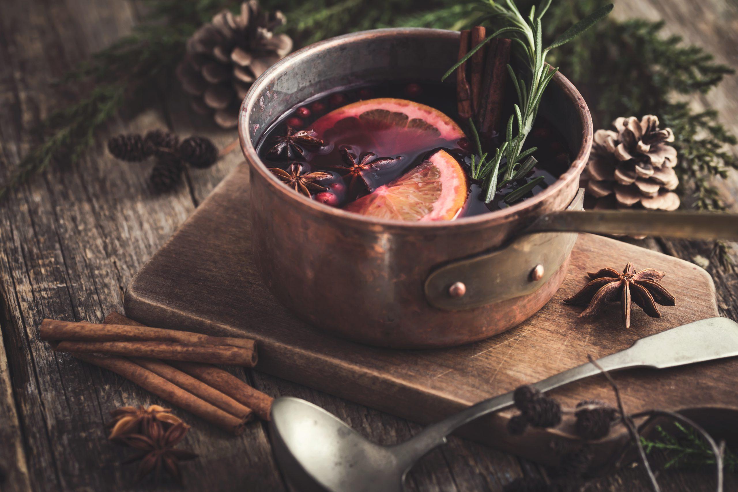 寒い季節におすすめ!ホットワインを美味しく作るコツ