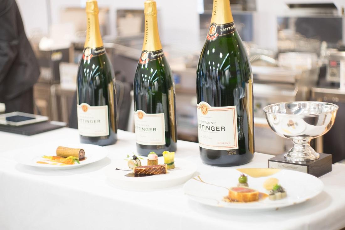 第54回ル・テタンジェ賞国際シグネチャーキュイジーヌコンクール日本大会の候補者3名の料理