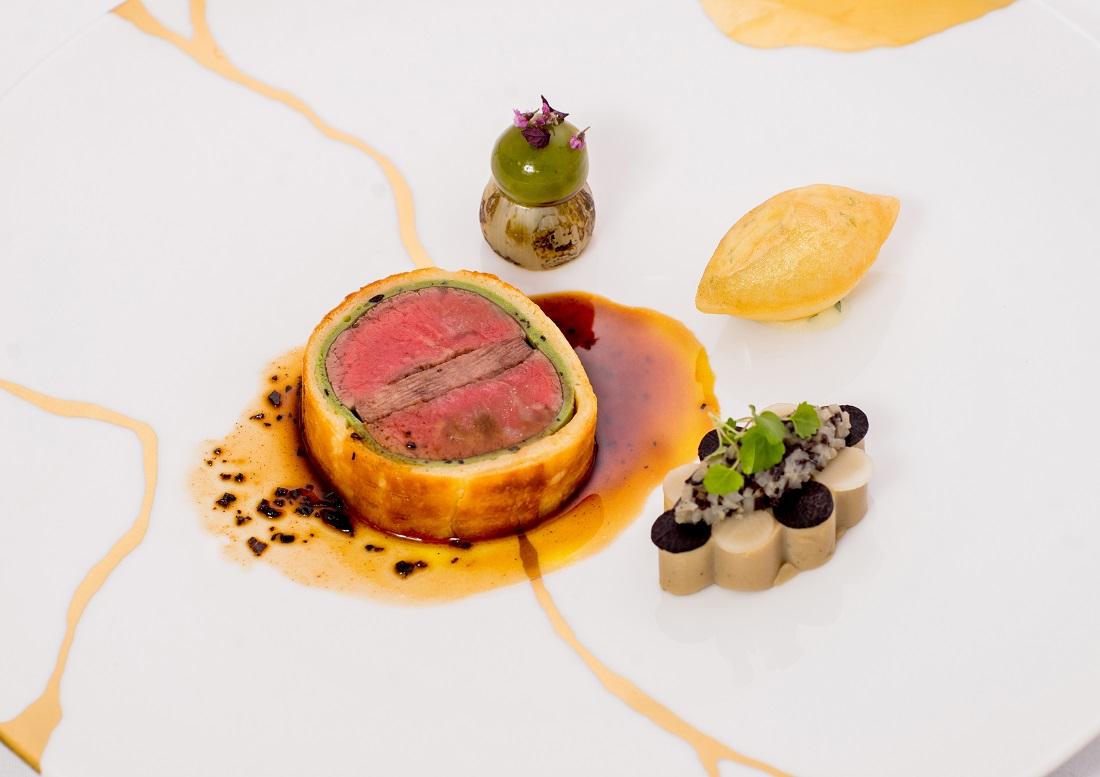 第54回ル・テタンジェ賞国際シグネチャーキュイジーヌコンクール日本会1位獲得の堀内亮シェフ(パレスホテル東京)の料理