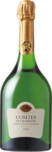 「テタンジェ コント・ド・シャンパーニュ ブラン・ド・ブラン2008」のボトル