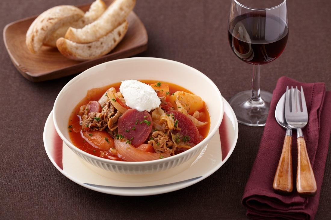 ワーママレシピ第四十一弾!スープ料理と赤ワインで冬をほっこり過ごそう