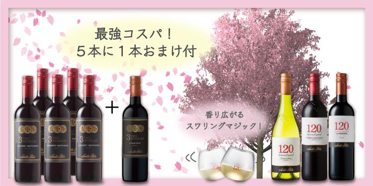 「Amazon 春のお酒特集」サンタ・リタセット