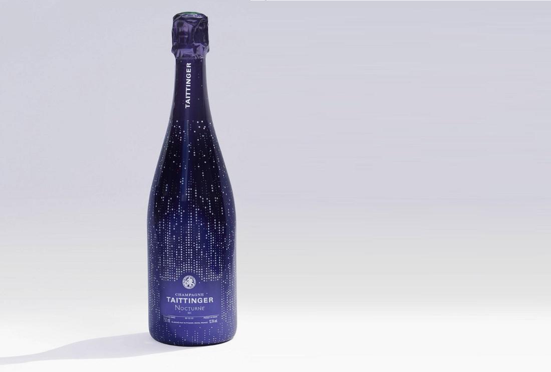 テタンジェ「ノクターン」ワインボトル