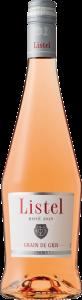 リステル グリ・グラン・ド・グリ ロゼワインのボトル