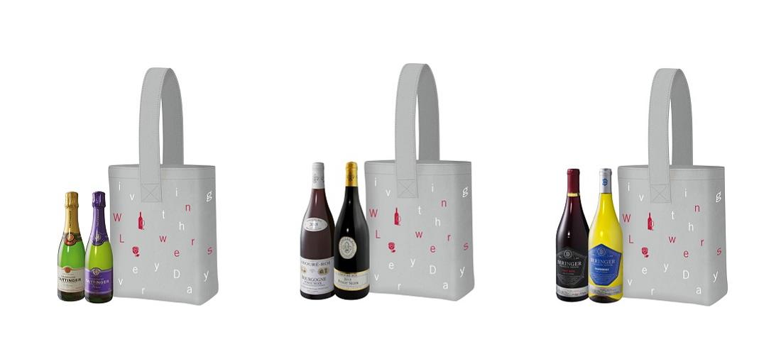 Amazon限定青山フラワーマーケットデザイン『トートバッグ』画像3種