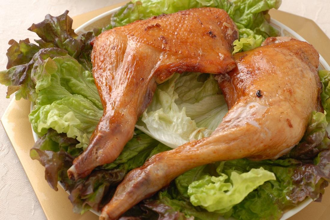 骨つき鶏肉のパリパリオーブン焼き-1